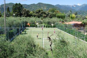 Camping Eden - sport en spel tennis
