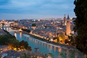 Camping Eden - Grote stad Verona, Italie